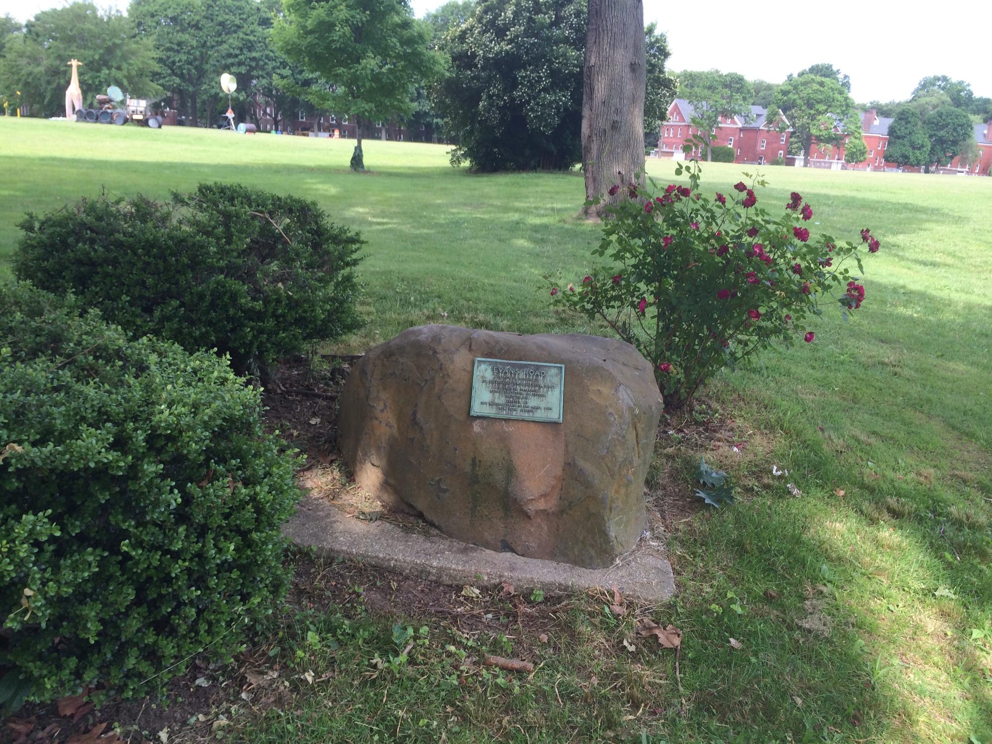 Edwin Van Meter Evans Memorial (NY)