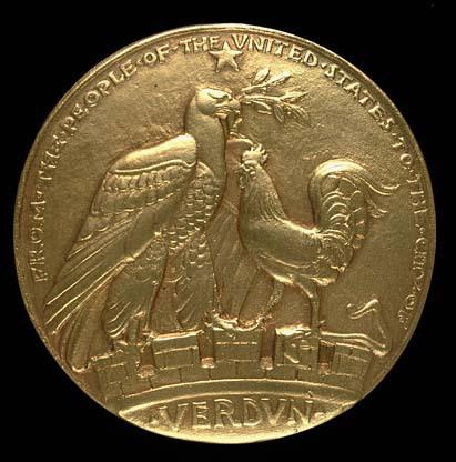 Verdun Medal #B (obverse)