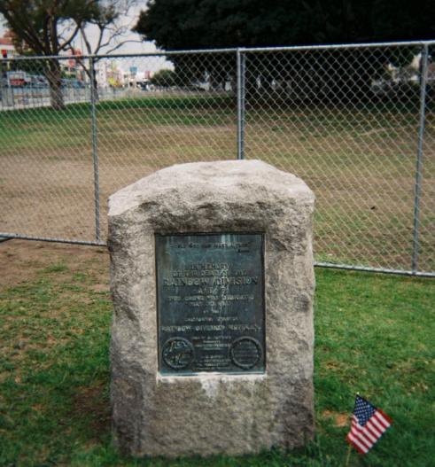 Rainbow Division Memorial Grove Monument