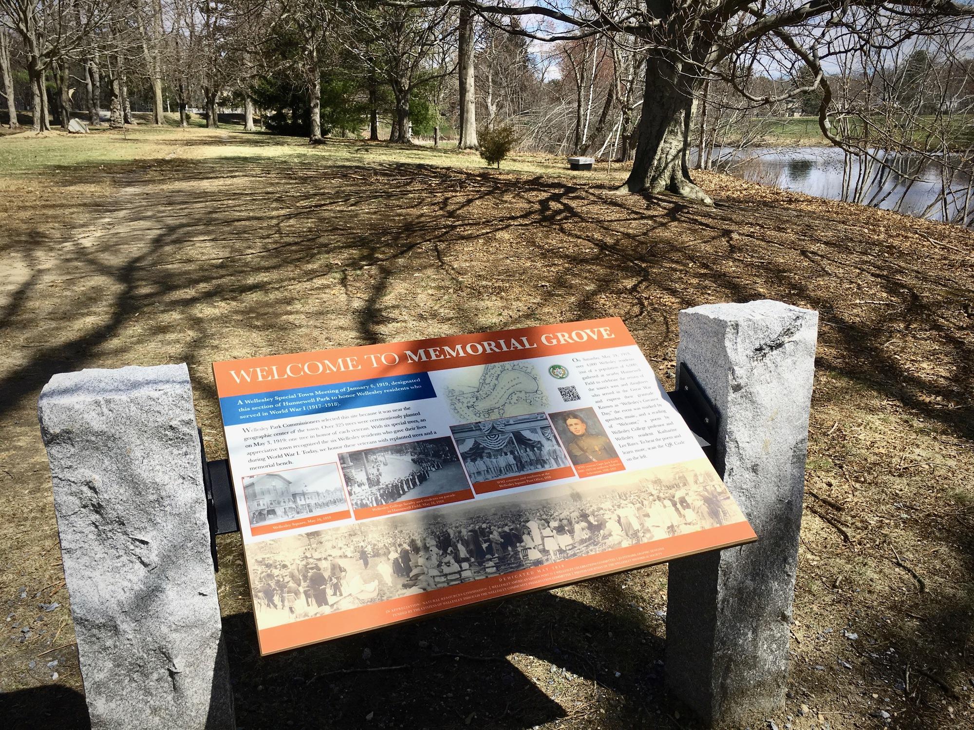 Wellesley Memorial Grove (MA)