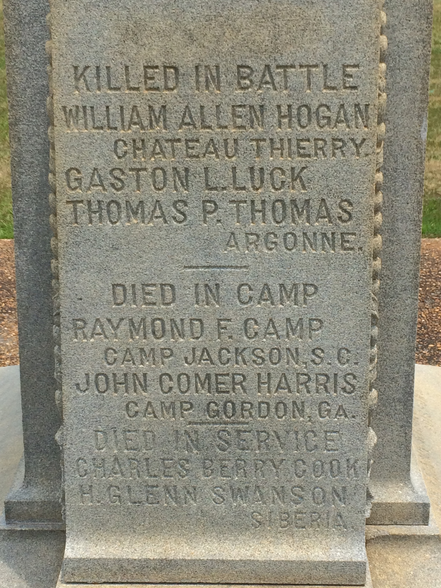 Campbell County Soldier Boys Monument (GA)&lt;br /&gt;<br />