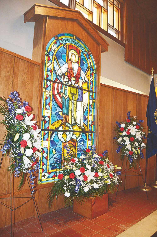Henry J. Sweeney and All-Veterans Memorial Window (NH)