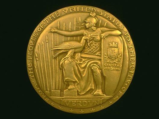 Verdun Medal #A (obverse)