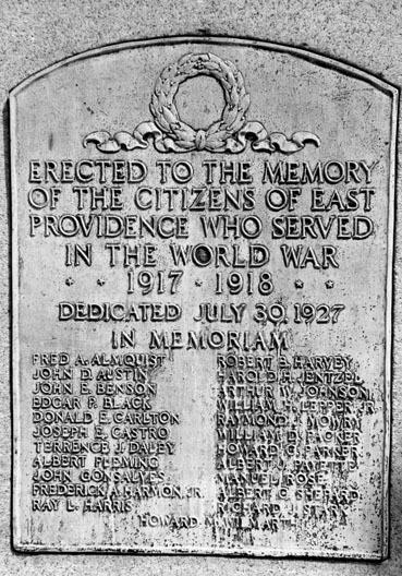 East Providence World War I Memorial