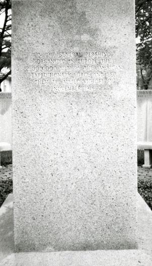 (General John J. Pershing Memorial)