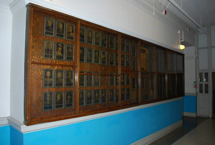 South Boston High School World War I Memorial Portraits