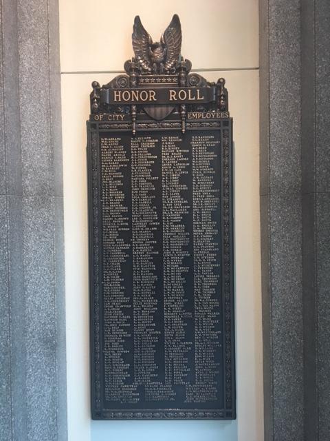 King County World War I Memorial Plaques (WA)