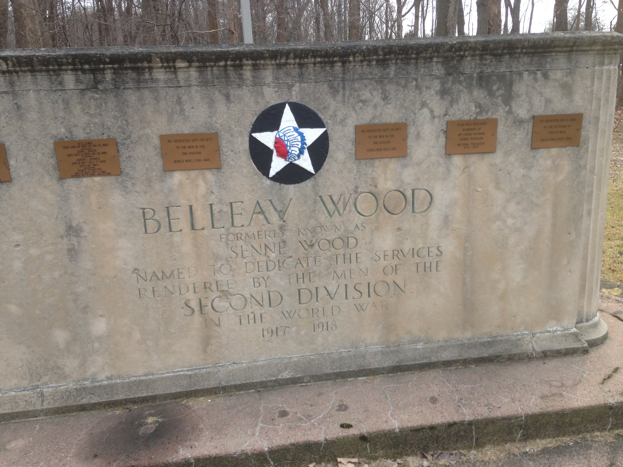 Belleau Wood Second Division Memorial (IL)