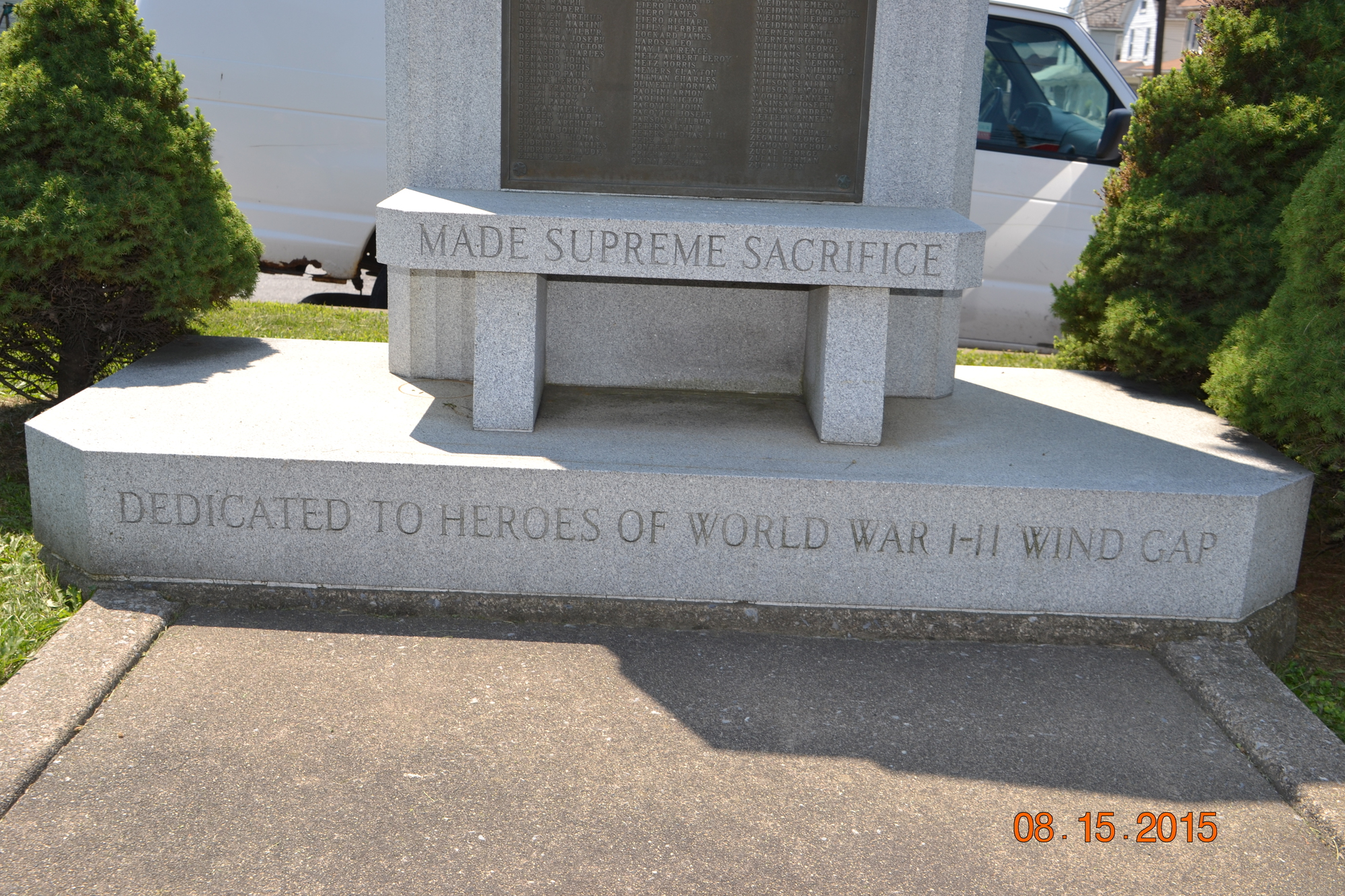 Wind Gap World Wars Memorial (PA)