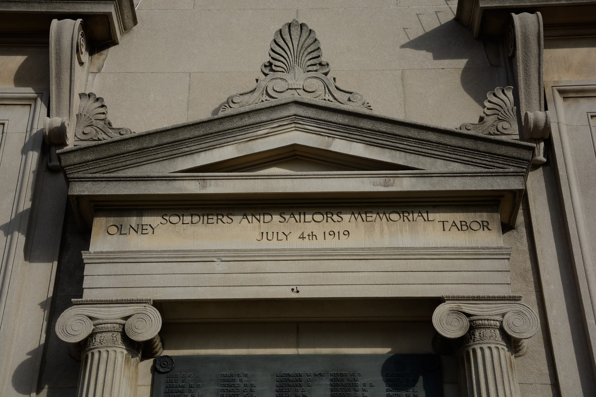 Olney Tabor Soldiers and Sailors Memorial (PA)