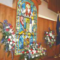 NH Manchester. Sweeney Memorial Window. St. Raphael Parish.jpg