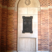 LA Shreveport. WWI memorial plaque at Chamber of Commerce (ex library) (sub. Jonathan Fox) 1.JPG